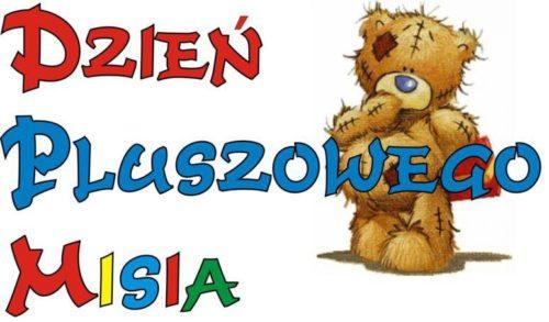 Logo Światowego dnia pluszowego misia